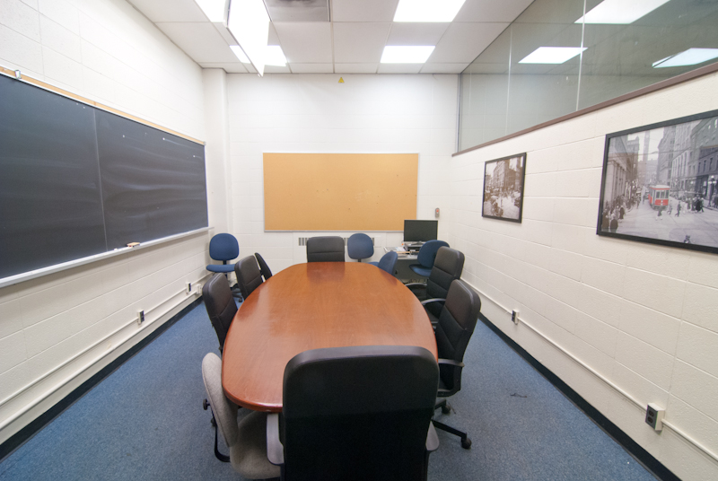 The GGAPSS conference room in Sidney Smith Hall